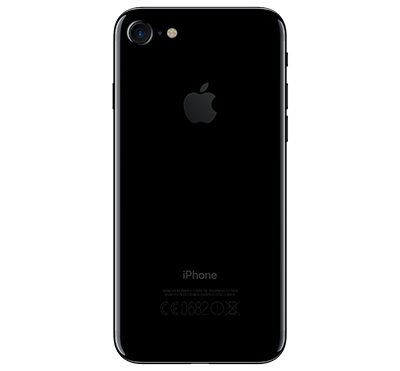 Apple iPhone 7 128GB - Gagatsvart