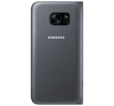 Galaxy S7 LED View Cover - Svart