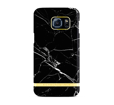 Marble Cover Samsung Galaxy S7 - Svart
