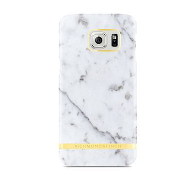 Marble Cover Samsung Galaxy S7 - Vit