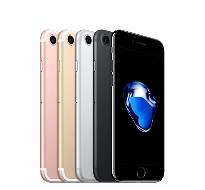 Apple iPhone 7 256GB - Gagatsvart