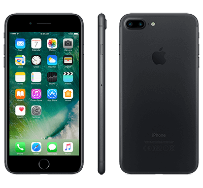 Apple iPhone 7 Plus 128GB - Svart