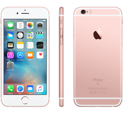 Apple iPhone 6s - Rosa guld