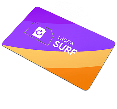 ladda surf