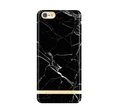 Marble Cover iPhone 6/6s - Svart