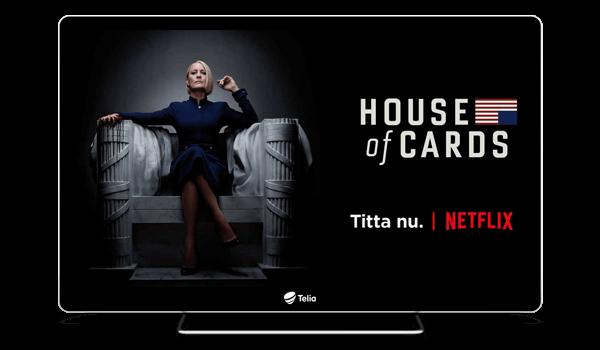 Netflix i Telias tv-box - Telia.se