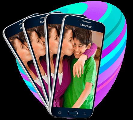 mobilabonnemang familj