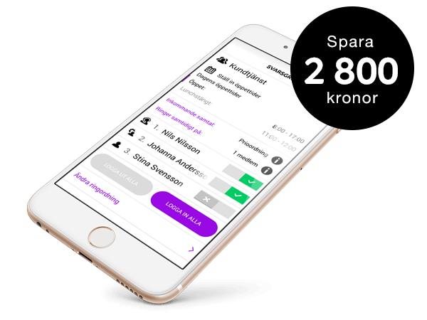 abonnemang erbjudande iphone 5s