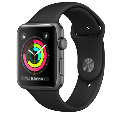 Apple Watch, Series 3, skärm 42mm